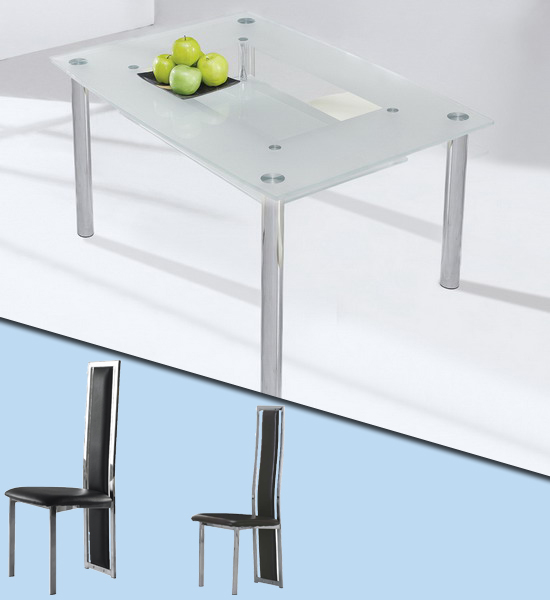 Small Dining Table For 4: Dining Table: Small Dining Table And 4 Chairs