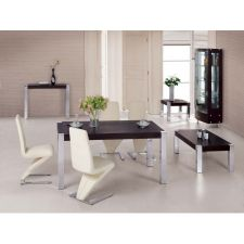 Wood Dining Table + 6 D216 Chairs Apollo