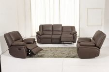 Leather Recliner Sofa 311 Suite Elan Brown