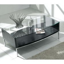 Metro - Glass Coffee Table Wenge