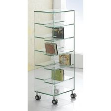 CD Rack with casters