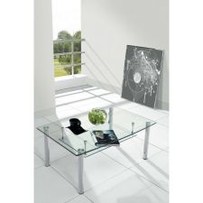 Compact - Transparent Glass Coffee Table