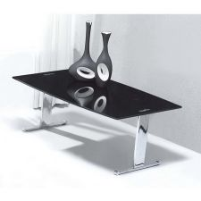 Scala - Black Glass Coffee Table