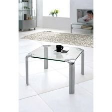 Erica - Glass Side Table