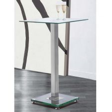 Glass bar table Ice Transparent