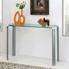 Erica - Glass Console Table