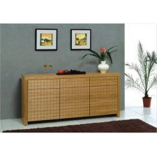 Cuba - Wood Side Unit Cabinet
