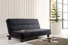 Fabric Sofa Bed Texas Black