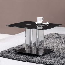 Trilogy - Glass Side Table