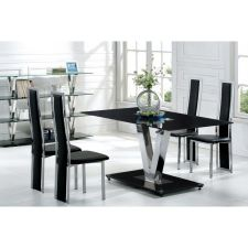 V - Glass Dining Table + 6 D231 Chairs