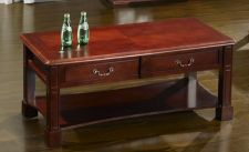 Windsor Traditionally Styled Coffee Table Mahogany