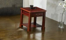 Windsor Traditionally Styled Side Table Mahogany