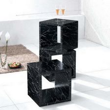 Marble Effect Display box Xeta Black FU-NICHA Genuine Brand
