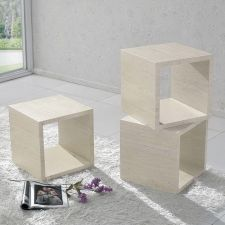 Marble Effect Display box Xeta Ivory FU-NICHA Genuine Brand