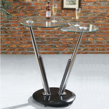 Twist - Tall Wenge Bar Table