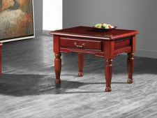 Balmoral Traditional Retro Style Side Table Mahogany