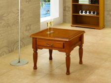 Balmoral Traditional Retro Style Side Table Yew