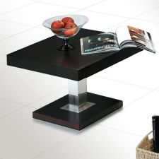 Wood side table Broadway Wenge