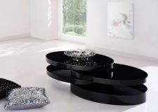 'ECLIPSE' Rotatable Contemporary Coffee Table