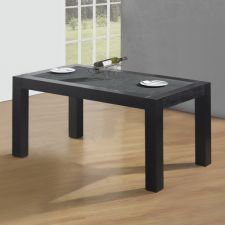 Wood Dining Table Granite Small Wenge