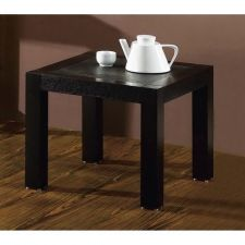 Wood side table Granite Oak