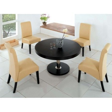 Vancouver - Wenge Dining Table L + 6 B01 Chairs