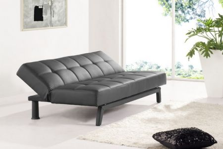 Faux Leather Sofabed Mariano 3 seater