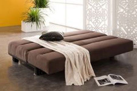 Fabric Sofa Bed Texas Brown